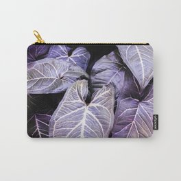 Jungle leaf - amethyst Carry-All Pouch