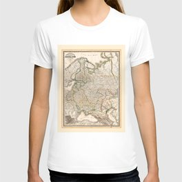 Map of Western Russia (1854) T-shirt