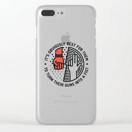 GH Clear iPhone Case