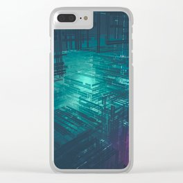 dirty depths Clear iPhone Case