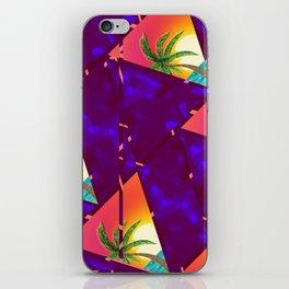 Summer mood landscape pattern iPhone Skin