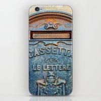 italian iPhone & iPod Skins featuring Italian mailbox by Silvia Ganora