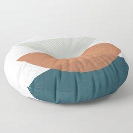 Minimal Shapes No.34 Floor Pillow