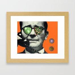 Atomic Eye Framed Art Print