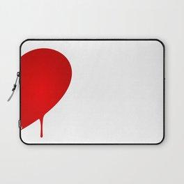 Half Heart Man Laptop Sleeve