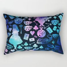Alice in Wonderland - Galaxy Rectangular Pillow