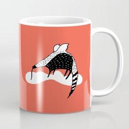 Flying Anteater by Amanda Jones Coffee Mug