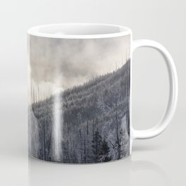 Steamy Forest -  Yellowstone National Park Coffee Mug