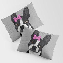 Boston Girl Pillow Sham