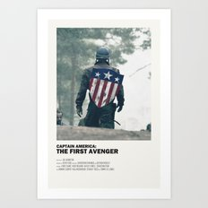 The First Avenger Art Print