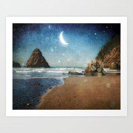 Oregon Moondust Art Print