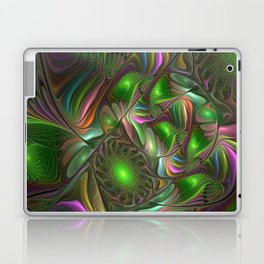 Colorful and Luminous, Abstract Fractal Art Laptop & iPad Skin