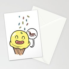 Friends Go Better Together 6/7 - Ice Cream and Sprinkles Stationery Cards