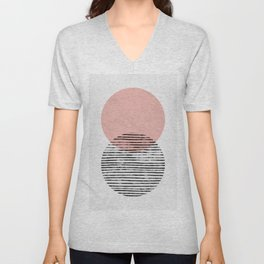 Mid Century art duo Unisex V-Neck