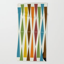 Mid-Century Modern Art 1.4 Beach Towel