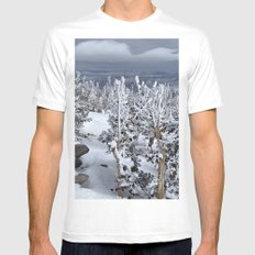 Mt Rose MEDIUM Mens Fitted Tee White