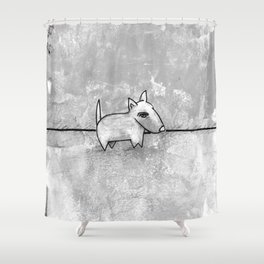 Dog No.1r by Kathy Morton Stanion Shower Curtain
