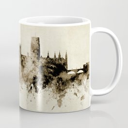Durham England Skyline Coffee Mug