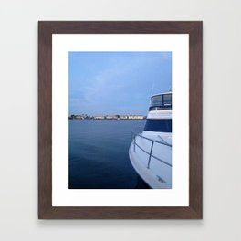 Calm Sea Framed Art Print