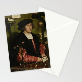Hans Holbein the Younger - The Merchant Georg Gisze Stationery Cards