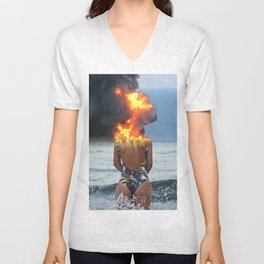 Offshore Blowout Unisex V-Neck