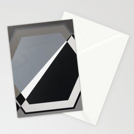 London - hexagon Stationery Cards