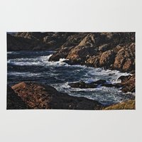 norway Area & Throw Rugs featuring Norway Landscape by Christine baessler