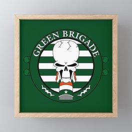 Green Brigade Framed Mini Art Print