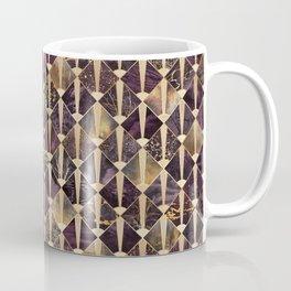 Art Deco Tiles - Plum Coffee Mug