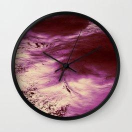 Lava Ocean Wall Clock