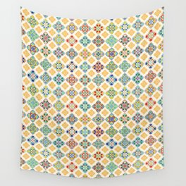 A sunny day in Marrakesh Wall Tapestry