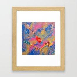 Directions Framed Art Print