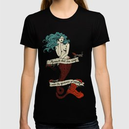 Mermaids Don't Lose Sleep Over the Opinons of Shrimp T-shirt