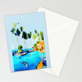 Corky's diving Stationery Cards