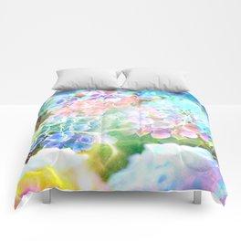 Hydrangeas in Water Comforters