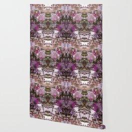 Succulent Butterflies Wallpaper