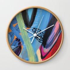 Drops III Wall Clock