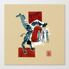 Capoeira 554 Canvas Print