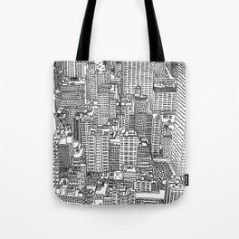 New York View 3 Tote Bag