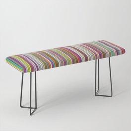 Stripes & stripes Bench