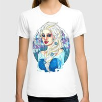 elsa T-shirts featuring Elsa by Little Lost Forest