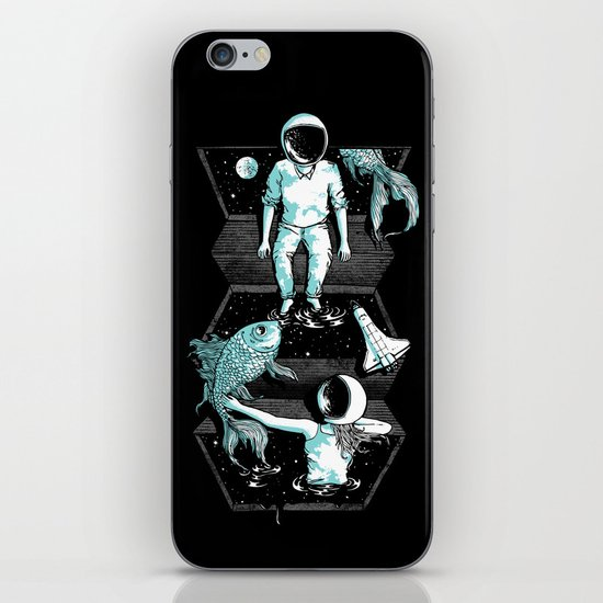 Space Between iPhone Skin