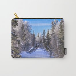 Frozen river Carry-All Pouch