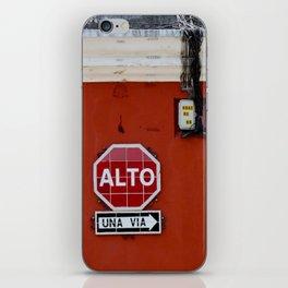 Stop! iPhone Skin