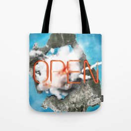 Gate Now Open Tote Bag