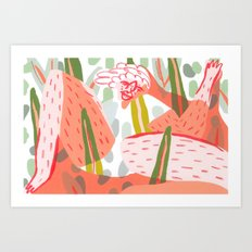 At one with Art Print