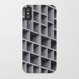 Grid iPhone Case