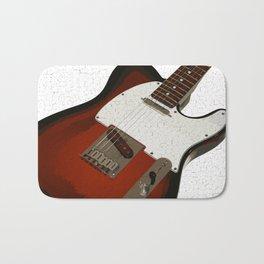 Electric Guitar Bath Mat