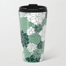 Desert Garden Metal Travel Mug