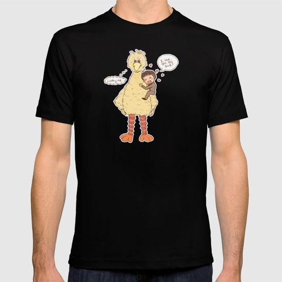 Romney loves Big Bird T-shirt